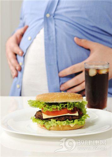 汉堡 可乐 快餐 肥胖 腹部 减肥 垃圾食品_14580465_xxl