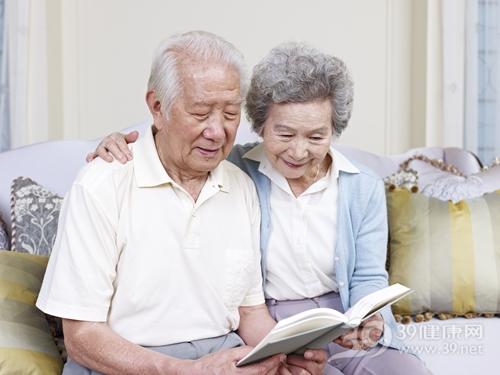 中老年 男 女 阅读 看书 夫妻_20196970_xxl