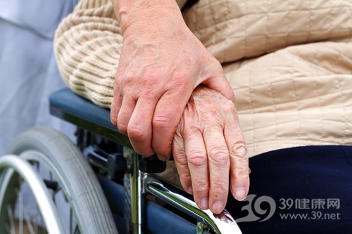 中老年 握手 安慰 轮椅 支持_28347988_xxl