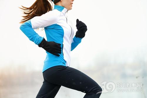 青年 女 运动 跑步 冬天 寒冷_16603977_xxl