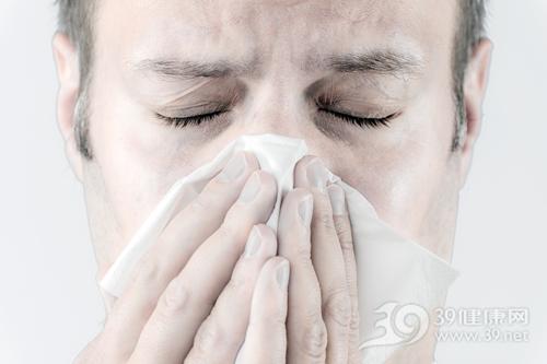 青年 男 纸巾 鼻子 感冒 过敏 咳嗽_ 15604498_xl