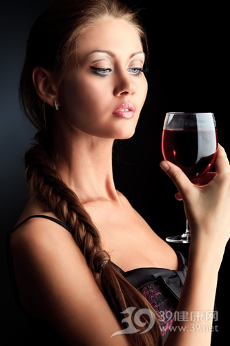 青年 女 喝酒 酒精 红酒 宴会 派对_9784257_xxl