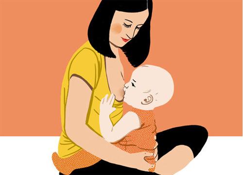 母乳喂养日:母乳喂养不成功 可能是你的姿势不对