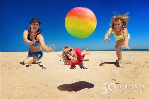青年 女 运动 沙滩 排球_17824151_xxl