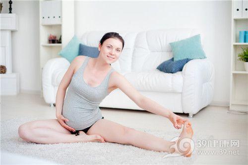 青年 女 孕妇 怀孕 运动 瑜伽 家居_21612125_xxl