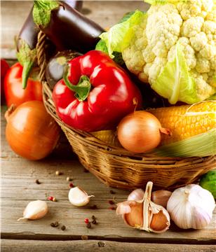 蔬菜 蔬菜 红椒 菜花 玉米 蒜头 茄子 洋葱_15302488_xxl_副本