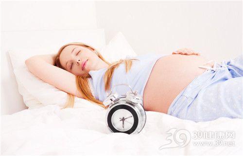 打鼾≠睡得香 孕妈妈打鼾有三大原因