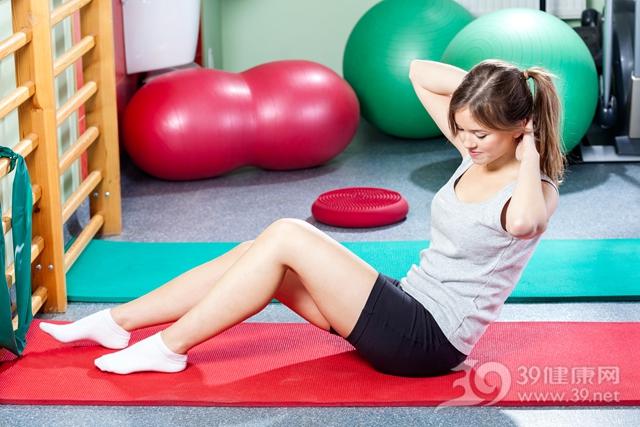 青年 女 运动 健身 仰卧起坐_27983701_xxl