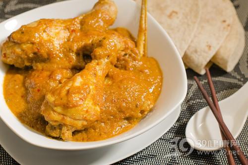 咖喱 咖喱鸡 鸡腿 筷子_15532161_xxl
