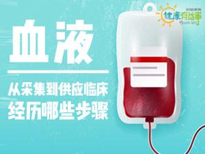 血液从采集到供应临床经历哪些步骤