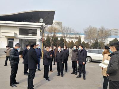 河北省工信厅厅长龚晓峰莅临颈复康药业考察集团公司复工复产情况