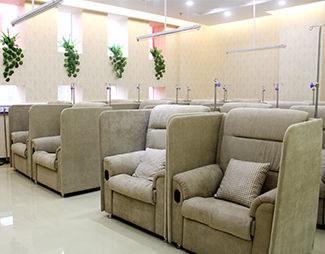 郑州风湿病医院休息区