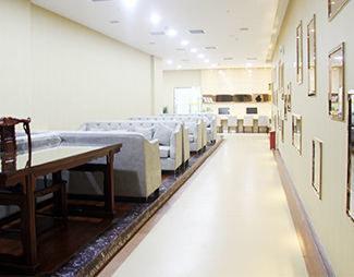 北京治疗咽喉炎医院的休息室