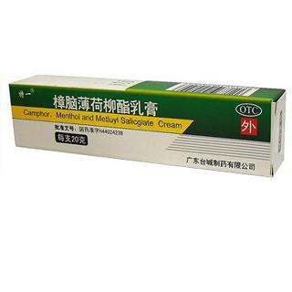 樟脑薄荷柳酯乳膏(特一)